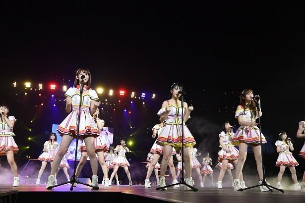 """HKT48新曲で""""なこみく""""のWセンターが決定! ドラフト3期研究生のお披露目も"""