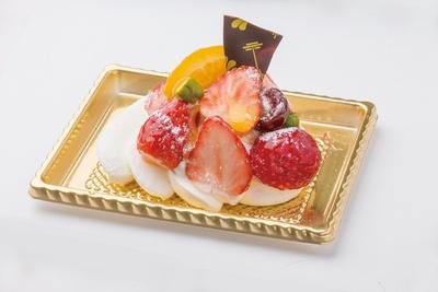 「Saku Saku フルーツメレンゲ」は、1人用のサイズ(税抜420円)もある
