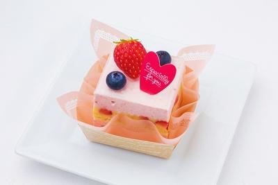 「ランコントル」の「いちごミルク」(430円)
