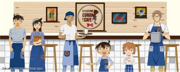 【写真を見る】名探偵コナンカフェ2018(福岡会場) / 4月6日(金)~5月7日(月) 名探偵コナンの世界を満喫できる