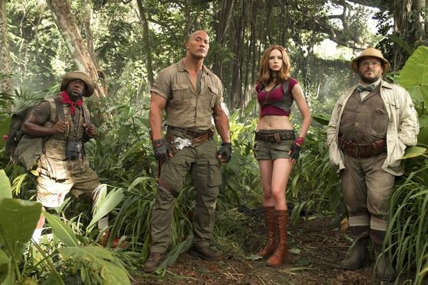 先行上映中の4DX&MX4D版が話題の『ジュマンジ/ウェルカム・トゥ・ジャングル』