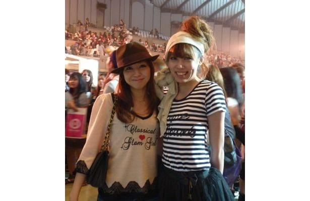 「本当に楽しかったです!」と話してくれた石川陽子さんと夢乃さん