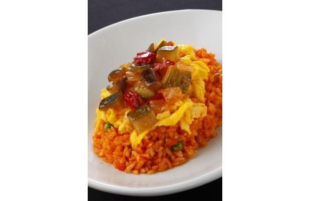 セイラの心情をイメージした「セイラの物思い 地中海ラタトゥイユ丼」