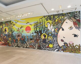 福岡アジア美術館がリニューアル! 話題の壁画やくつろぎのアートカフェがお目見え