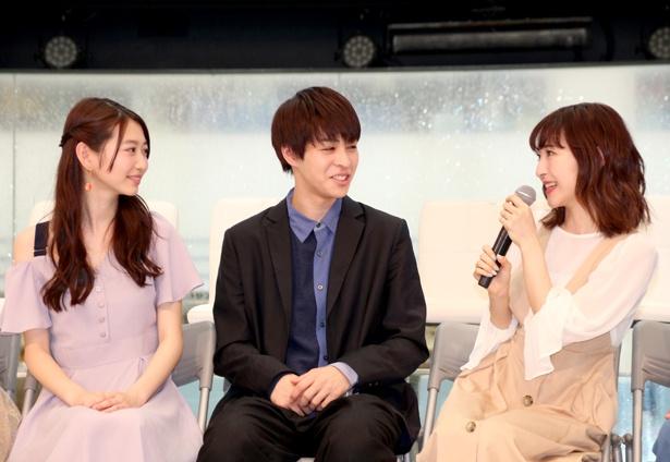 神田沙也加はビジュアル公開について「制作発表の恒例儀式」と明かす