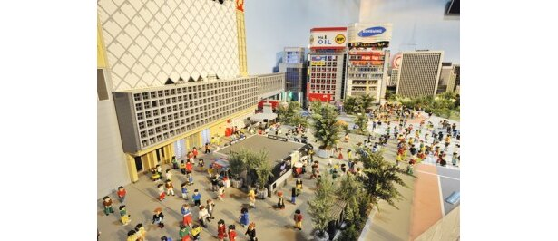 「レゴスタジアム」にはレゴでできた東京の街並みも展示