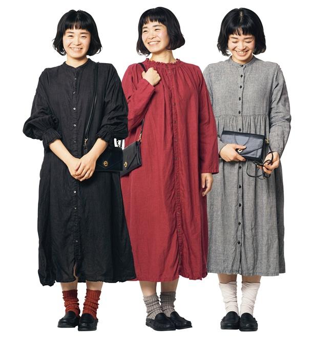 【写真を見る】平日は着る服をルーティン化すれば、朝迷わなくてすむ!