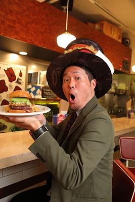 「これが兵庫県ナンバーワンに輝いたハンバーガー! ビジュアルから美しい!」