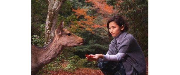 お父さん似? 『FURUSATO』に出演の内田伽羅