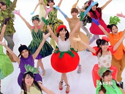 "AKB48のかなりレアなコスプレ姿を楽しめるカゴメの新CMは5月10日(月)より全国でオンエアスタート。キュートな""AKB48野菜シスターズ""を見逃さないで!"