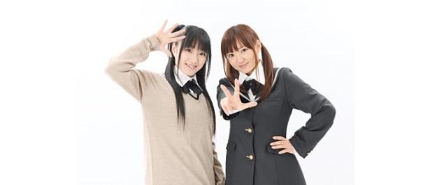 【写真】インターネットラジオ番組「良子と佳奈のアマガミ カミングスウィート」MCの新谷良子、阿澄佳奈(写真左から)