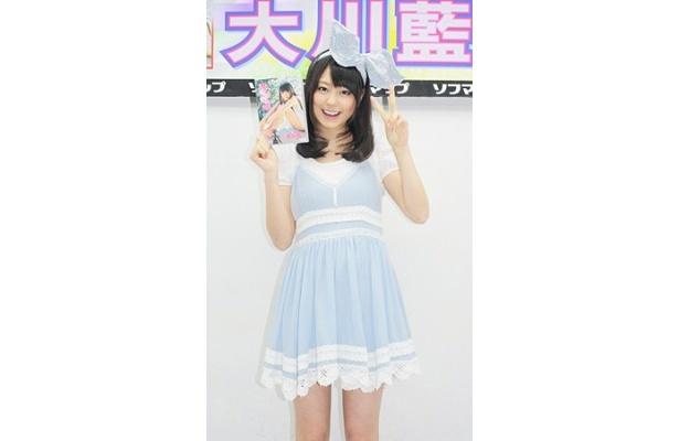 1stDVDを発売したアイドリング!!!20号・大川藍