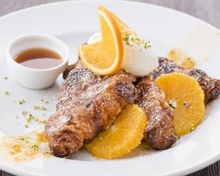 期間限定!オレンジ香るフレンチトーストが「サラべス 名古屋店」に登場