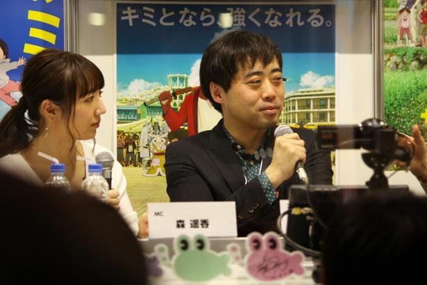 細田監督作品最新作「未来のミライ」はものすごく大きな命の物語!? プロデューサー・トークイベント『金曜ロードSHOW!×スタジオ地図』レポート