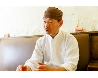 オーナーシェフの岩井浩二さん。フレンチ出身で、独立したのは96年。最初は千葉に、デリと弁当の専門店としてスタートした