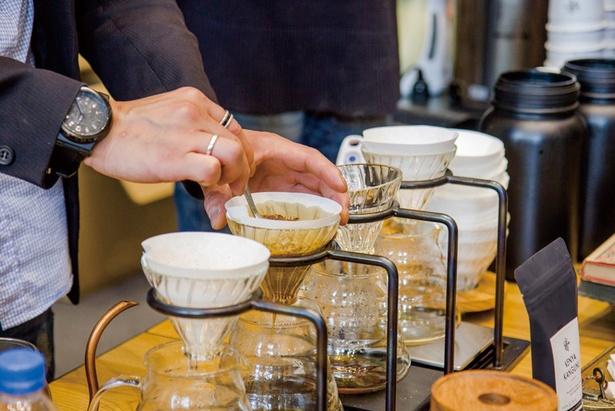 東京ではなかなか飲めないコーヒーに出会えるのも魅力!コーヒー コレクション ア ラウンド カンダニシキチョウ 2018 スプリングで好みの味を探そう