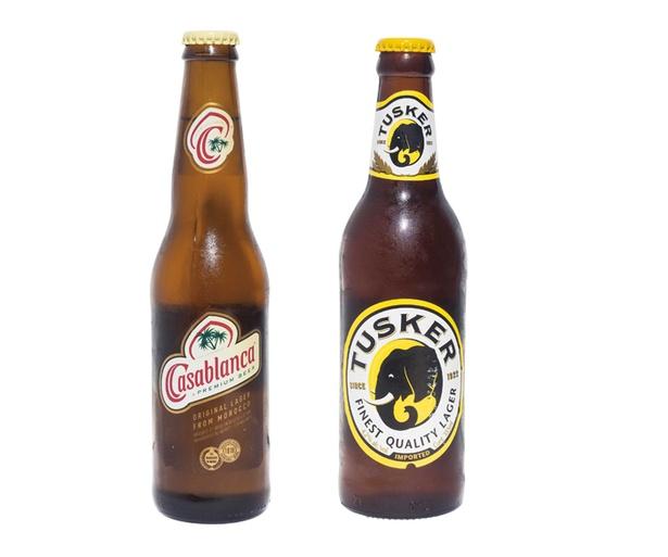珍しいビールも販売している