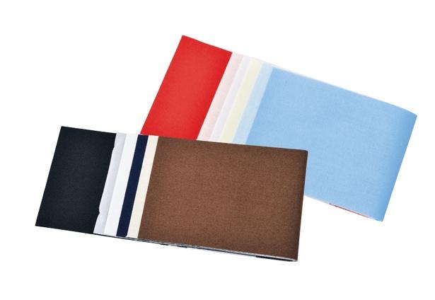 綿の補修布セット(ベーシック・カラフル) 各440円/クロバー