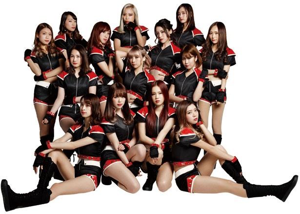 オリックス・バッファローズ球団公式ダンス&ヴォーカルユニット BsGirls