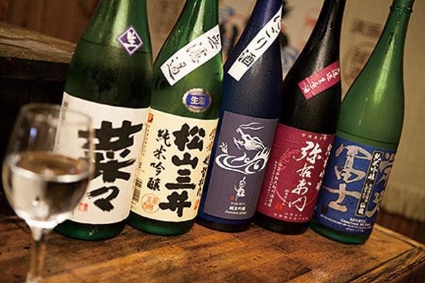 希少な地酒も多数/地酒蔵大阪 本店