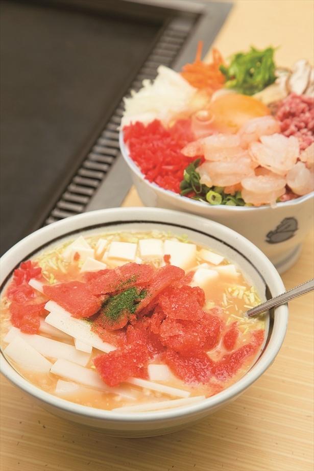 百獣の王・武井壮が愛するメニューは「もんじゃ お好み焼き やぐら」の明太もちチーズもんじゃ860円