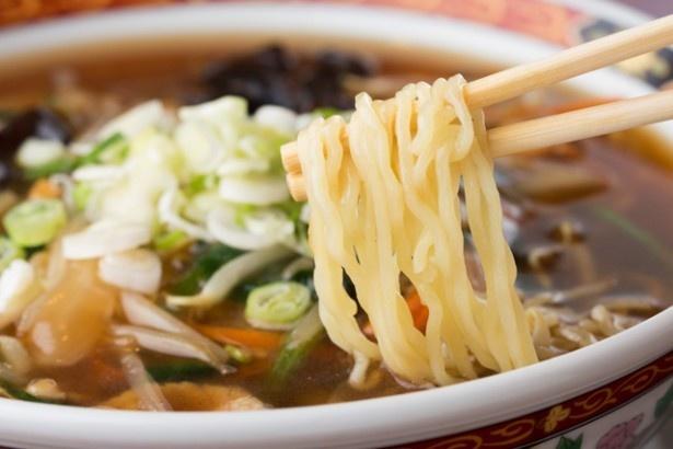 神奈川県民にはおなじみ「サンマ―麺」