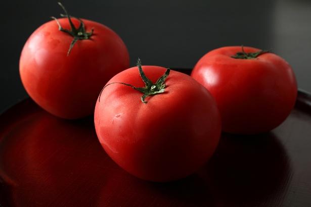 トマトは今が一番美味しい時期です