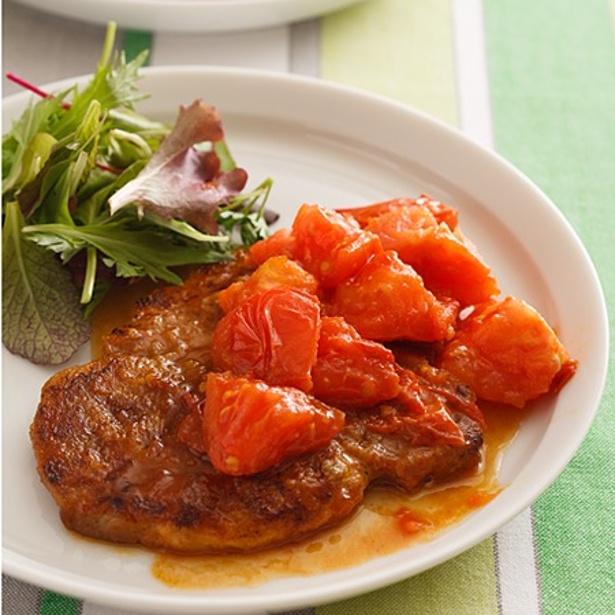 【関連レシピ】ポークソテーのトマトソースがけ
