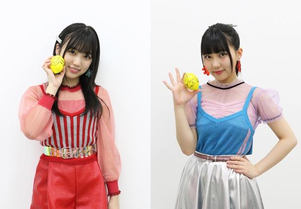 HKT48 11枚目のシングル「早送りカレンダー」でWセンターを務める田中美久(右)&矢吹奈子(左)にインタビュー!