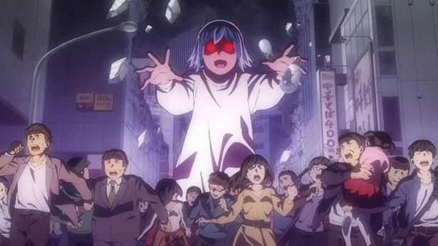 「ヒナまつり」第2話の先行カットが到着。ヒナを狙う少女アンズと超能力勝負!?