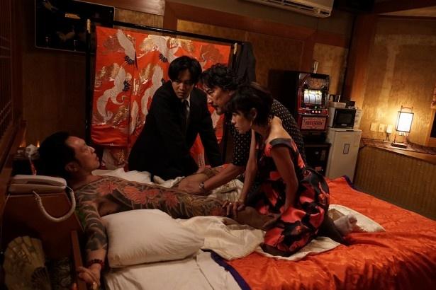 近年の日本映画にはない、タブーを物ともしない世界観が展開する