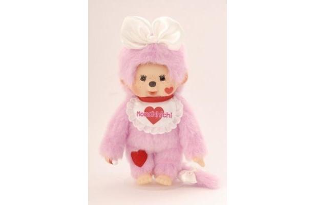 【写真】こちらは全身ピンクの「Lovin'Sweet Monchhichi」