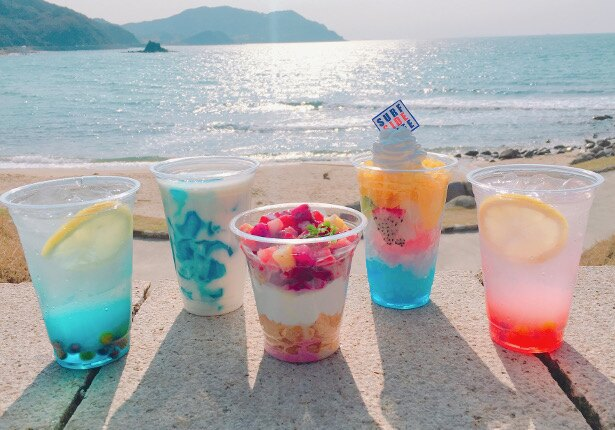 「SURF SIDE CAFE」のドリンク&スイーツが夏メニューに一新!