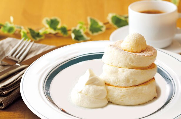 オーダー後に1枚1枚丁寧に焼かれるパンケーキの専門店「gram イオンモール神戸南店」