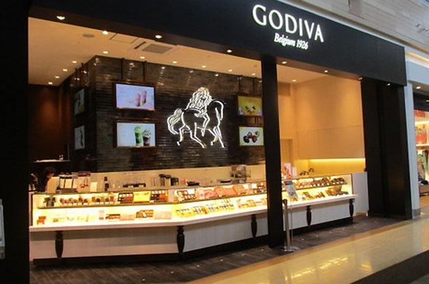 3月30日にオープンした「ゴディバ」