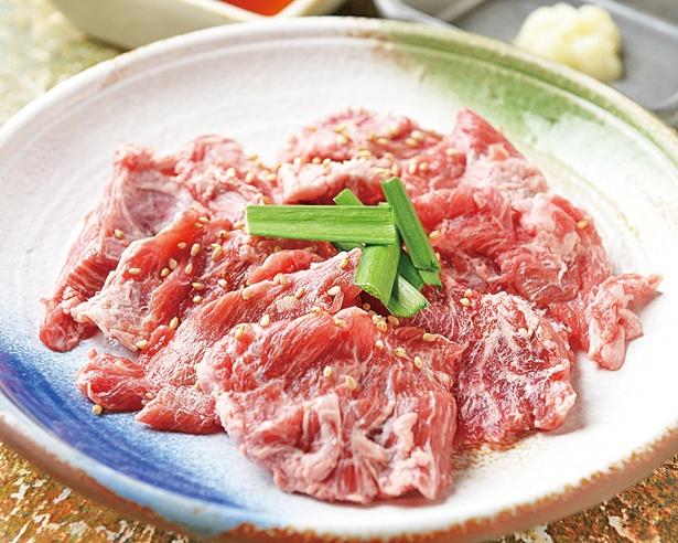【写真を見る】モトを取るならこれを食べよう!リピーター続出の霜降り牛ハラミ/焼肉のかわよし 本店