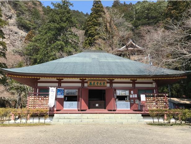 鳳来寺の本堂です!