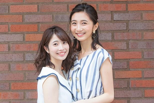 「CAMPUS ROOM」の高嶋望和子さん(写真左)と近藤カコさん(写真右)