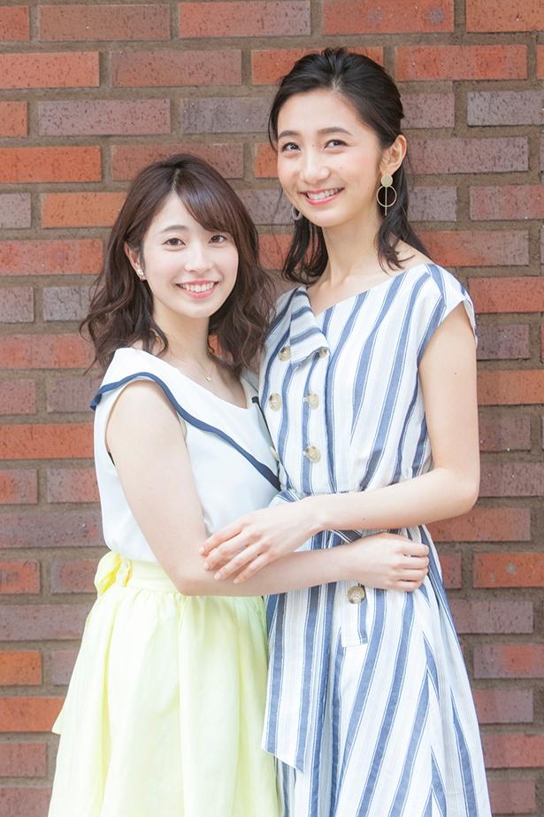 2人はレプロエンタテインメントの現役女子大生部門「CAMPUS ROOM」に所属する