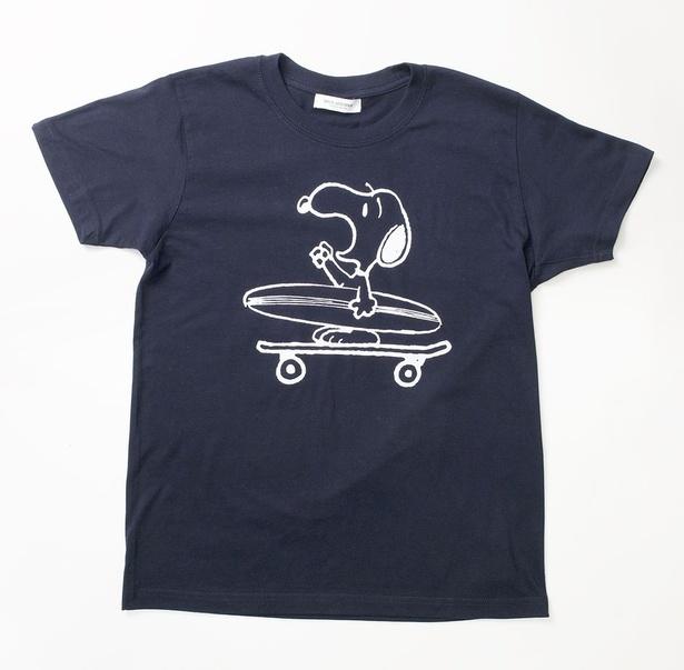 ルミネ新宿限定!スピック&スパンの「SNOOPY SURFプリントTシャツ」(税抜7500円)