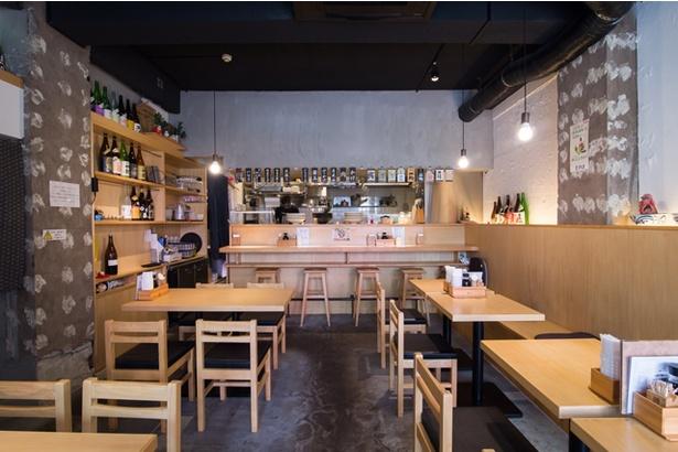 東京のイタリア料理店や讃岐うどん店で経験を積んだ店主・岩村さんが腕を振るう店