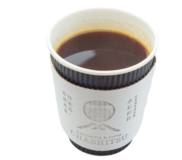 「ほうじアメリカーノ」(450円)/CHASHITSU Japanese Tea & Coffee