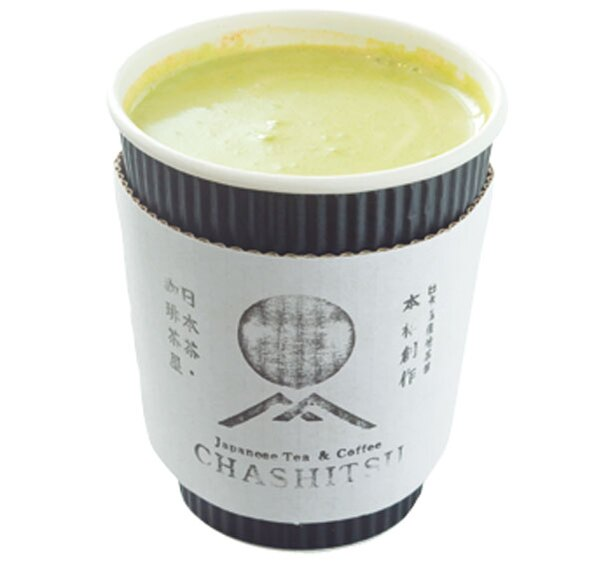 「抹茶ヴィエナコーヒー」(480円)/CHASHITSU Japanese Tea & Coffee
