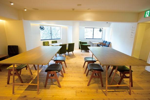 3階のイベント&カフェスペース/CHASHITSU Japanese Tea & Coffee