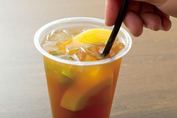 <2>果汁の酸味もアクセントに/CHASHITSU Japanese Tea & Coffee