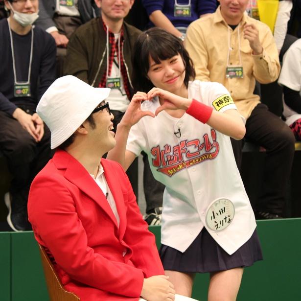 小田えりなは今回も鈴木拓へのアピールで「心がこもってない」と言われてしまう。そして、あの名言が再び…