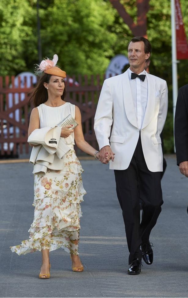 夫のヨアキム王子とマリー王子妃