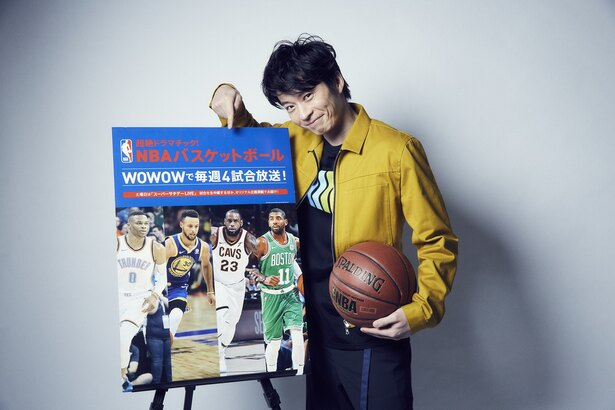 【写真を見る】全国優勝経験あり!バスケから芸能界への方向転換、NBA愛から生まれた勘違いを告白