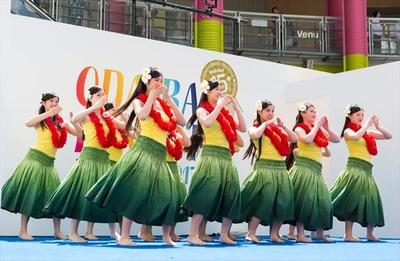 お台場ハワイ・フェスティバル 2018は4月28日(土)から5月6日(日)までの期間開催