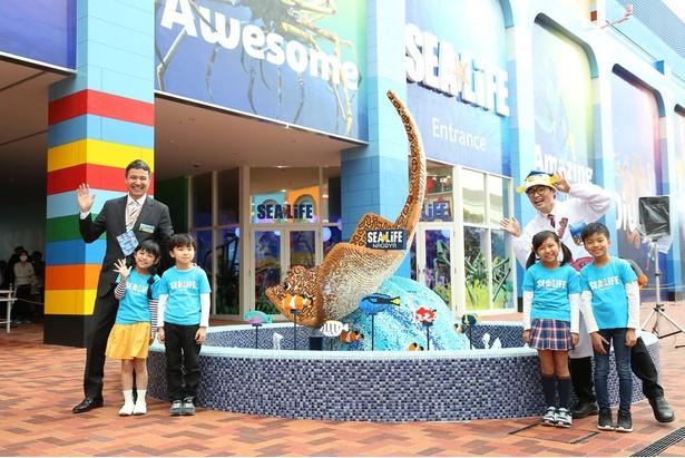 「水族館を通して、お魚や海の生き物、水の中の生き物の暮らしを楽しくワクワクしながら、見て、感じて、考えて欲しいです」(さかなクン)